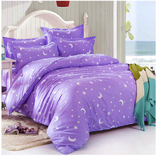 Diamond Fleece Bedding Sets 4pcs Bed Linen Bed Sheets Duvet Cover Set Pillowcase Pink Bed Cover(China)