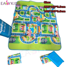 Kids Play Mat imwei City Road Carpets For Children Carpet Baby Toys Rugs Developing Play Puzzle Mats Goma Eva Foam(China)