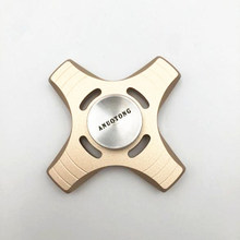 Buy ANUOTONG Tri-Spinner Fidget Spinner Aluminium alloy EDC Hand Spinner fidget Spinner Metalen Autism ADHD Anti Stress for $8.73 in AliExpress store