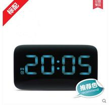 2016 Student creative metal table clock Mute with Night Light alarm clock personality lazy bedside clock  free shipping lxq 631
