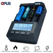Opus bt-c3100 Battery Charger Smart Digital Intelligent 4 Slot LCD Universal Battery Charger Lithium 10440 18650 OPUS BT C3100