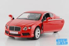 Brand New UNI 1/36 Scale UK Bentley Continental Diecast Metal Pull Back Car Model Toy For Gift/Collection/Children
