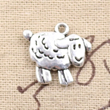 Buy 99Cents 4pcs Charms sheep lamb 18*16mm Antique Making pendant fit,Vintage Tibetan Silver,DIY bracelet necklace for $1.00 in AliExpress store
