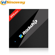 H96 Max 4GB RAM 32GB ROM Android TV Box RK3399 Six Core Android 7.1 Smart TV BOX WiFi Bluetooth 1000M Ethernet LAN set top box