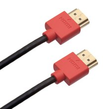 2016  0.5m 1m 2m 3m 5m 100pcs/lot Slim HDMI cable V1.4 of High speed W/Ethernet For 1080P HDTV and PS3 and XBOX