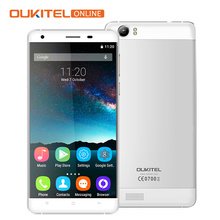 "6000mAh Battery Oukitel K6000 5.5"" HD 4G LTE Mobile Phone Android 6.0 MTK6735P 1280x720 2G RAM 16G ROM GPS OTG 8MP Smartphone"