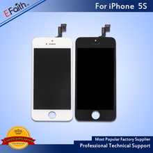 20pcs/lot Grade A+++LCD For iPhone 5S Display With Touch Screen Digitizer Assembly LCD & Ear Mesh & Camera Holder& Free Shipping