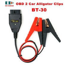 OBD2 connecting Car Alligator Clips Battery Clamps Maintaining Auto Car Computer ECU MEMORY Saver Battery Tool OBD2 SAFE Replace