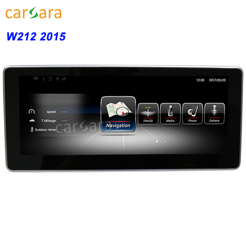 10.25 navigation for benz w212 2015 2