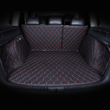 Car Trunk Mats Customized for Toyota RAV4 Land Cruiser Prado Camry Mark X Crown Verso 3D All Covered Waterproof Trunk Carpets