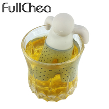 Buy FullChea Drinkware Filter Tea Infuser Silicone Little Man Shape Holder Teapot Strainer Tea Infuser Cup Teas Infusers for $1.29 in AliExpress store