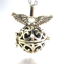 3 colors Harmony Ball Pendant Angel Caller Necklace Mix Design Musical Sound Ball Jewelry for Pregnant Women Gift