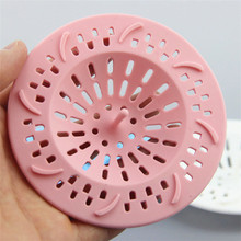 Silicone Sewer Drains Filter Colanders Strainers Kitchen Supplies Shower Drain Hole Filter Trap Bathroom Accessories Sets(China)