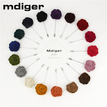 Mdiger Brand Fashion Flower Wedding Brooch Bouquet Men Suits Accessories Mens Brooches Pins Upscale Insert Lapel Pin Brooches