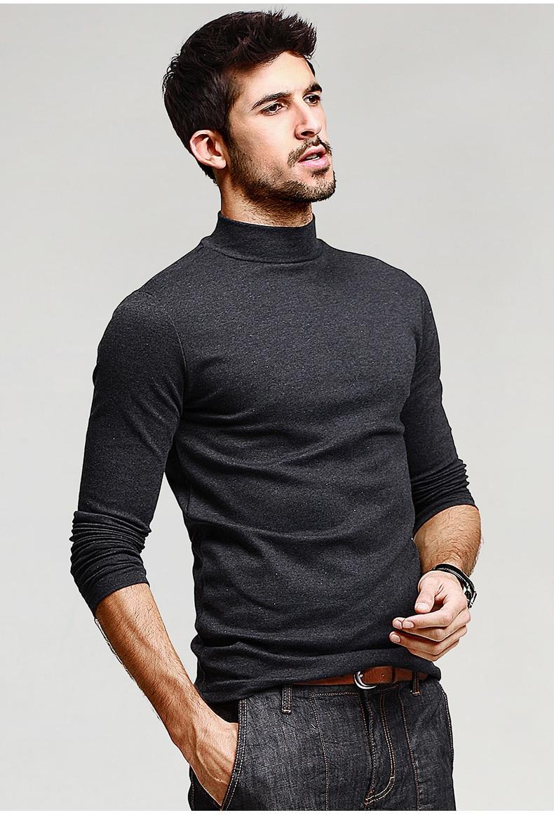 HTB1BaJmNFXXXXcUXFXXq6xXFXXXC - KUEGOU Mens Casual T Shirts 5 Solid Color Brand Clothing For Man's Long Sleeve Slim T-Shirts Male Wear Plus Size Tops Tees 803