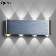 Modern Wall Lamp Bedroom Bathroom Led Wall Light 110V-220V Aluminum Decorate Waterproof Luminaire Abajur Industrial Wall Sconce(China)