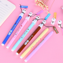 Sunny Doll Cute Expression Gel Pen Kawaii Gel Pen Office School Supplies Japanese Stationery Pens 0.38mm Anime Pen For Girl