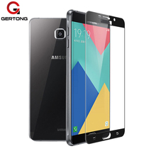 Full Cover Tempered Glass For Samsung Galaxy A5 A7 2016 S4 S5 S6 S7 C5 C7 Note 4 5 J3 J5 J7 2017 Screen Protector Toughened Film(China)