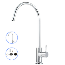 360 Swivel Reverse Osmosis Water Filter Sink Faucet Single Handle Water Purifier Tap Mixer Drinking Water Faucet