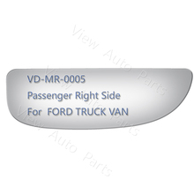 Lower Convex Door Mirror Glass for FORD TRUCK VAN Super Duty Passenger Right Side(China)