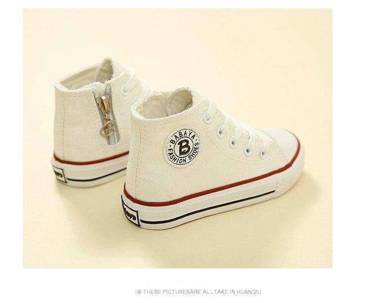 Enfants chaussures pour fille enfants toile chaussures garçons 29