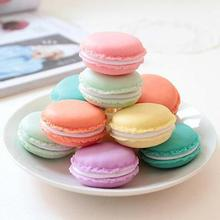 Macaron Jewelry Earring Necklace Display Storage Case Make-up Jewelry Box Coin Purse Mini Candy Pill Box Medicine Organizer Tool