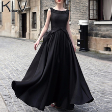 KLV Wedding Women Long Evening Party Ball Prom Gown Formal Dress(China)
