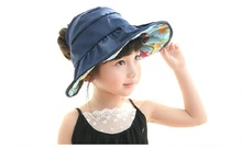 summer Foldable kids Cap Waterproof Pots Fishermans Visor For Children Sun Hat For Girl Boy Children's Hats(China)