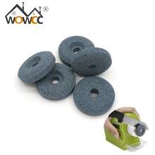 WOWCC Hot Sale 3pcs/set 3cm Grey Sharpener Stones Electric Motorized Knife Sharpener Accessories Kitchen Tools