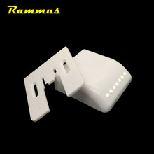 1pcs/set 7 LED Universal Induction Sensor Lamp Cabinet Cupboard Hinge Wardrobe Night Lighting Light Kitchen Bedroom Living Room(China)