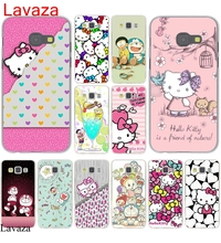 Lavaza Animation Hello Kitty mobile phone bag Hard Case Cover for Galaxy A3 A5 J5 (2015/2016/2017) & J3 J5 Prime A7 J7