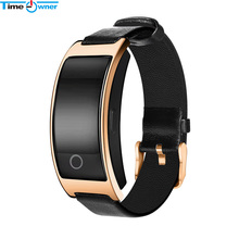 Time Owner CK11S Bluetooth Smart Bracelet Heart Rate Blood Pressure Oxygen Monitor Health Tracker Call/Message Remind Smartband(China)