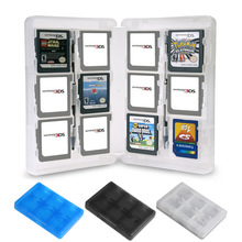 2pcs/lot 28 Slots Memory Card Holder Game Card Case Box Cartridge Anti Dust Anti Scratch for 3DS LL XL DS Games Cards