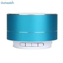 Ouhaobin Exquisite Bluetooth Wireless Speaker Mini Portable Super Bass For iPhone PC Tablet Wireless Bluetooth Speakers Set25(China)