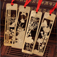 New Kawaii Beautiful Chinese Style Retro Exquisite Metal Bookmark Creative Project Gift Bag