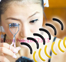 New 6PCS/1SET Mini Eyelashes Women Eyelash Curler Replacement Pads Eyelashes Circle Random Color Deliver 2015 hot(China)