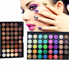 Eye Shadow Matte Palette Nude Eyeshadow Palette Brand Makeup Powder Eye Glitter Pigment Cosmetics 40 Color