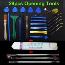 29 in 1 Opening Tools Repair Tools Phone Disassemble Tools set Kit For iPhone iPad HTC Cell Phone Tablet PC(China)