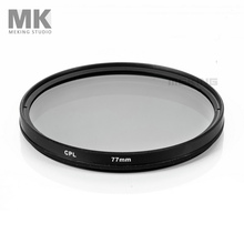 Meking Camera Lens Filter CPL Circular Polarizer DSLR Accessories for Nikon Canon Pentax Sony 52mm 58mm 62mm 67mm 72mm 77mm 82mm