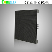 shenzhen led panel light billboard p6 led cabinet tri-color led display module p6 outdoor led module  video wall controller