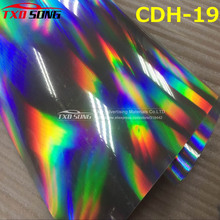 High quality hologram pu vinyl for heat transfer with size: 50CMX100CM, transfer hologram pu film for fabric by free shipping(China)