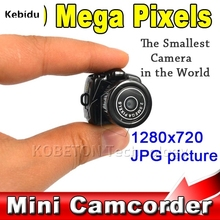 Y2000 200W Micro Portable Camera HD CMOS 2.0 Mega Pixel Pocket Video Audio Digital Mini Camcorder 640*480 480P DV DVR 720P(China)