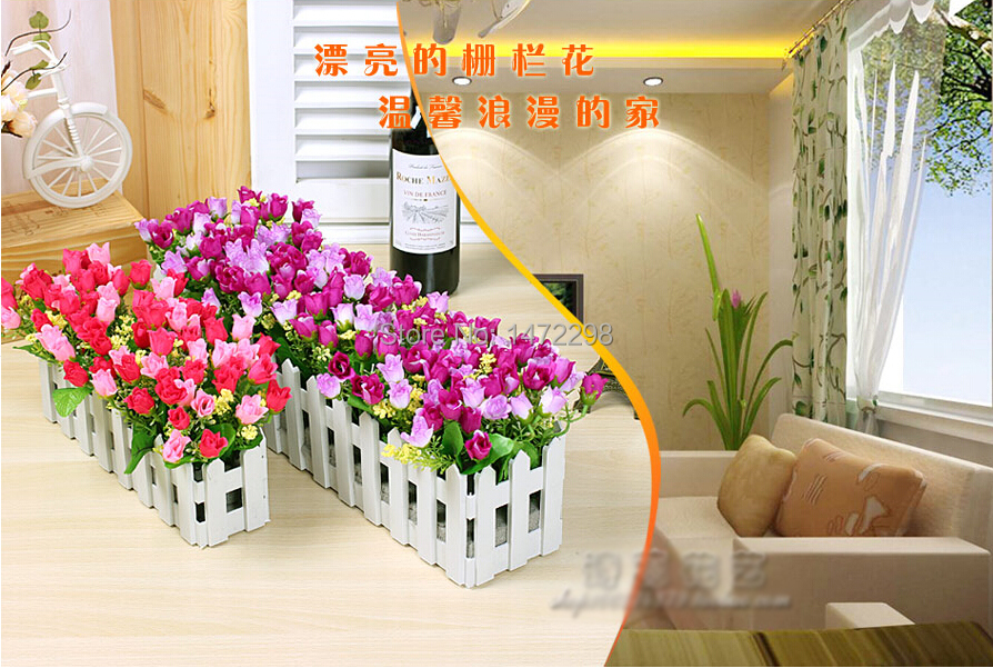 New Artificial Silk Gerbera Flower Wedding Fake Colorful Little Chrysanthemum + Stockade Home Garden Decoration(China (Mainland))