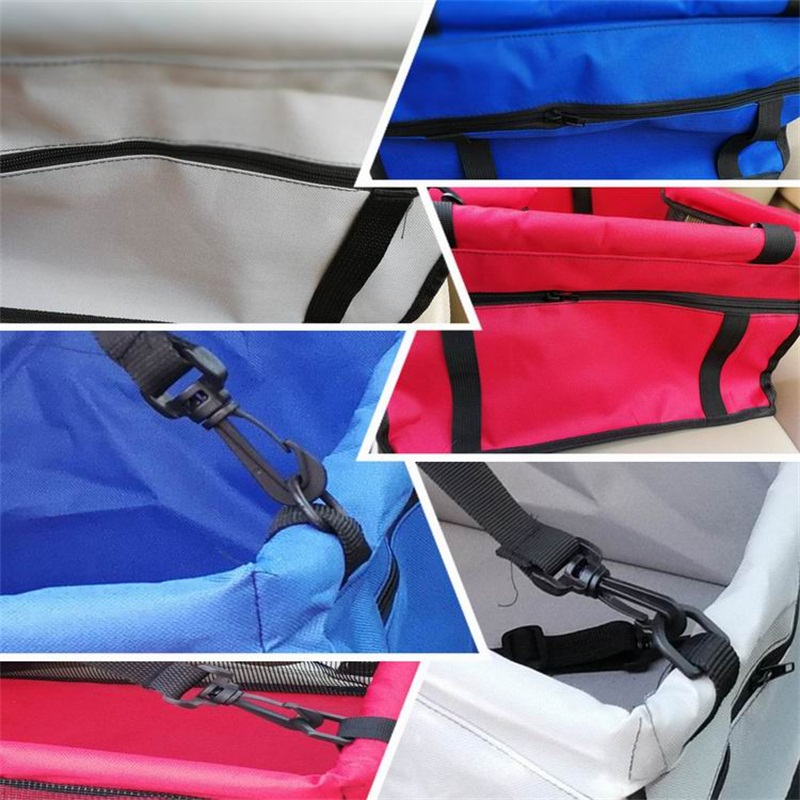multicolor Waterproof Washable Deluxe Pet Carrier Car Travel Bag for Dog, Cat