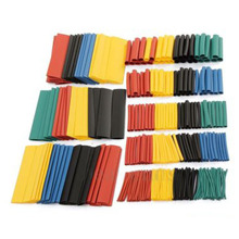 CNIM Hot 328Pcs Car Electrical Cable Heat Shrink Tube Tubing Wrap Wire Sleeve Kit