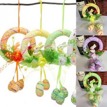 Foam Easter Egg Rabbit Dolls Hanging Ornament  Crafts  Party Home  Decoration Holiday Gifts