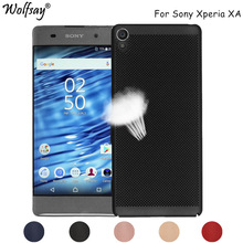 Buy Wolfsay Matte PC Cover Sony Xperia XA Case F3111 F3113 F3115 Fashion Heat Dissipation Case Sony Xperia XA Case Fundas for $2.45 in AliExpress store