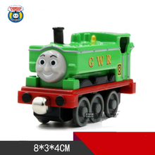 G W R 8 Dark One Piece Diecast Metal Train Toy Thomas and Friends Megnetic Train The Tank Engine Toys For Children Kids Gifts