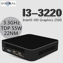 Desktop CPU Intel Core i3 3220 3.3GHz TDP 55W Powerful Mini PC Nettop Home Computer HTPC 1*HDMI 1*VGA 5G AC Wifi Bluetooth 4.0