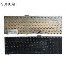 New RUSSIA Laptop keyboard for MSI A6200 CR620 CX705 S6000 RU BLACK Laptop keyboard V111922AK1(China)